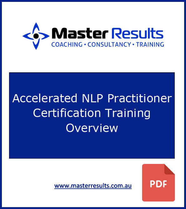 Nlp Practitioner And Coach Certification Master Results
